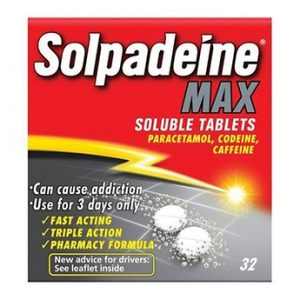 Solpadeine Max Soluble 32 Painkiller Tablets